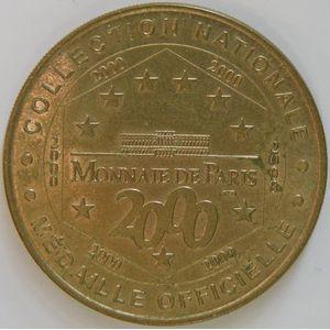 Photo numismatique Monnaies Jetons et médailles Jetons Touristiques de la Monnaie de Paris Département 06 Alpes Maritimes