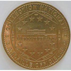 Photo numismatique Monnaies Jetons et médailles Jetons Touristiques de la Monnaie de Paris Département 29 Finistère