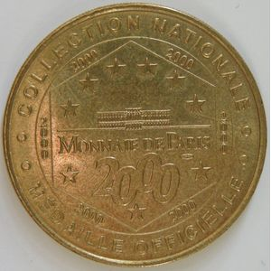Photo numismatique Monnaies Jetons et médailles Jetons Touristiques de la Monnaie de Paris Département 34 Hérault