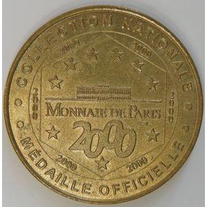 Photo numismatique Monnaies Jetons et médailles Jetons Touristiques de la Monnaie de Paris Département 37 Indre et Loire