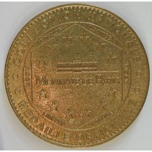 Photo numismatique Monnaies Jetons et médailles Jetons Touristiques de la Monnaie de Paris Département 41 Loir et Cher