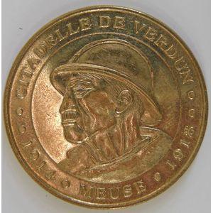 Photo numismatique Monnaies Jetons et médailles Jetons Touristiques de la Monnaie de Paris Département 55 Meuse