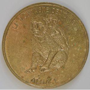 Photo numismatique Monnaies Jetons et médailles Jetons Touristiques de la Monnaie de Paris Département 67 Bas-Rhin