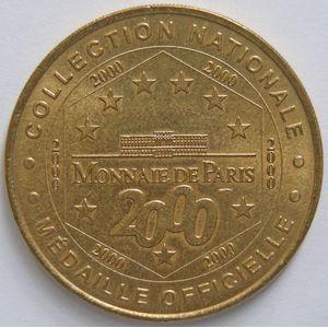 Photo numismatique Monnaies Jetons et médailles Jetons Touristiques de la Monnaie de Paris Département 51 Marne
