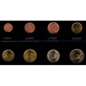 Photo numismatique Monnaies Euros Saint Marin Série 2002