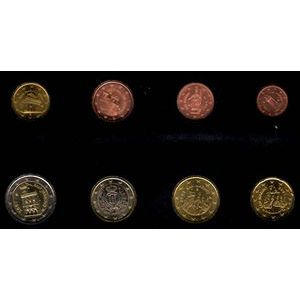 Photo numismatique Monnaies Euros Saint Marin Série 2003