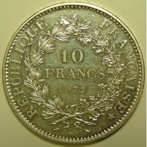 Photo numismatique Monnaies Françaises 10 Francs Gadoury 813. Hercule