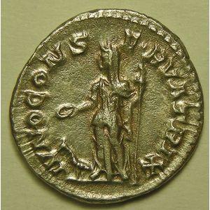 Photo numismatique Monnaies Empire Romain JULIE MAMEE (Mère d'Alexandre Sévère) Denier