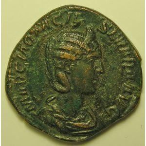 Photo numismatique Monnaies Empire Romain OTACILIE SEVERE (Epouse de Philippe I) Sesterce