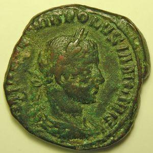 Photo numismatique Monnaies Empire Romain VOLUSIEN (251-253) Sesterce