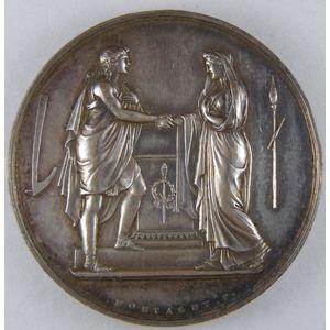 Photo numismatique Monnaies Jetons et médailles Médailles de mariage