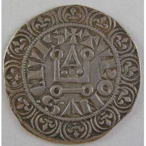 Photo numismatique Monnaies Royales Françaises PHILIPPE IV dit Philippe le Bel (1285-1314) Gros tournois à l'O rond