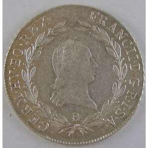 Photo numismatique Monnaies Etrangères Autriche 20 Kreuzer