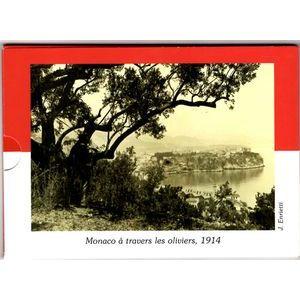 Photo numismatique Monnaies Euros Monaco Coffret BU 2014
