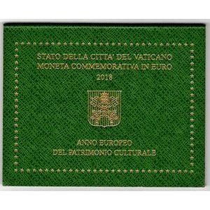 Photo numismatique Monnaies Euros Vatican 2 Euro 2018