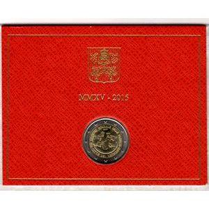 Photo numismatique Monnaies Euros Vatican 2 Euro 2015