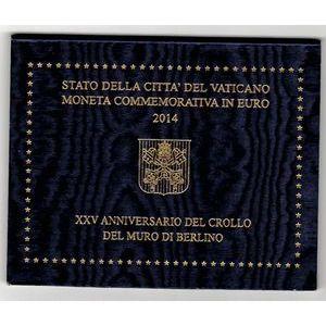 Photo numismatique Monnaies Euros Vatican 2 Euro 2014