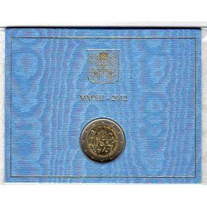 Photo numismatique Monnaies Euros Vatican 2 Euro 2012