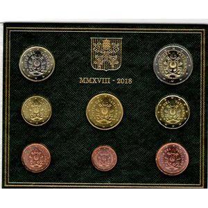 Photo numismatique Monnaies Euros Vatican Coffret BU 2018