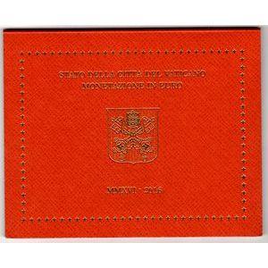 Photo numismatique Monnaies Euros Vatican Coffret BU 2016