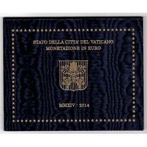 Photo numismatique Monnaies Euros Vatican Coffret BU 2014