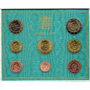 Photo numismatique Monnaies Euros Vatican Coffret BU 2013