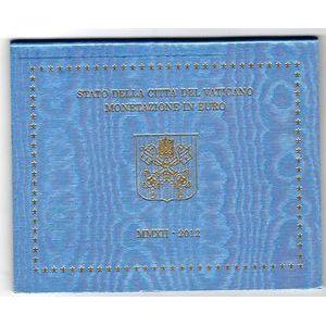 Photo numismatique Monnaies Euros Vatican Coffret BU 2012