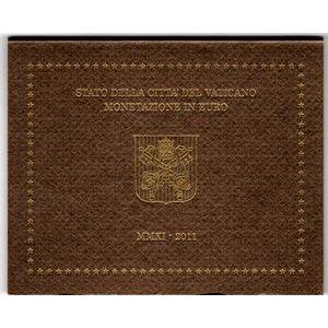 Photo numismatique Monnaies Euros Vatican Coffret BU 2011