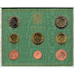 Photo numismatique Monnaies Euros Vatican Coffret BU 2010