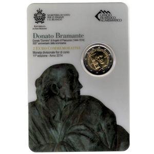 Photo numismatique Monnaies Euros Saint Marin 2 Euro 2014
