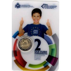 Photo numismatique Monnaies Euros Saint Marin 2 Euro 2012
