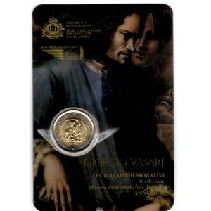 Photo numismatique Monnaies Euros Saint Marin 2 Euro 2011