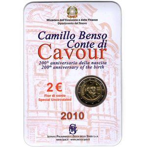 Photo numismatique Monnaies Euros Italie 2 Euro 2010
