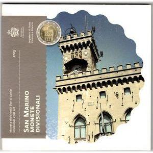 Photo numismatique Monnaies Euros Saint Marin Coffret BU 2015