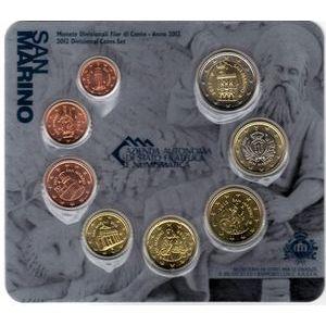 Photo numismatique Monnaies Euros Saint Marin Coffret BU 2012