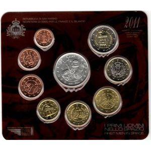 Photo numismatique Monnaies Euros Saint Marin Coffret BU 2011