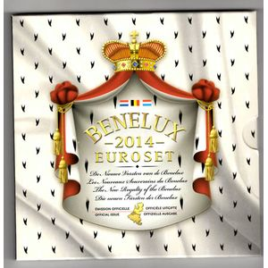 Photo numismatique Monnaies Euros Benelux Coffret BU 2014