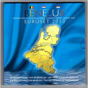 Photo numismatique Monnaies Euros Benelux Coffret BU 2013