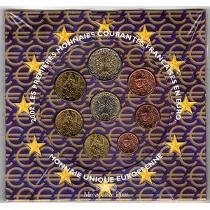 Photo numismatique Monnaies Euros France BU 2002