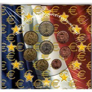 Photo numismatique Monnaies Euros France BU 2003