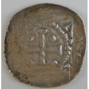 Photo numismatique Monnaies Lorraine Evêché de Metz Thierry II de Luxembourg (1005-1047)