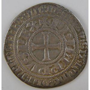 Photo numismatique Monnaies Royales Françaises PHILIPPE IV dit Philippe le Bel (1285-1314) Gros tournois à l'O long