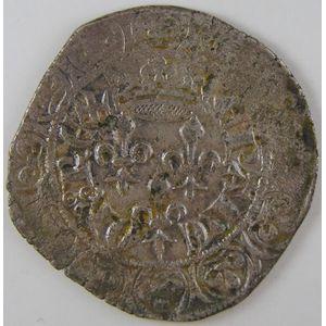 Photo numismatique Monnaies Royales Françaises JEAN II dit Jean Le Bon (1350-1364) Gros au 3 Lis