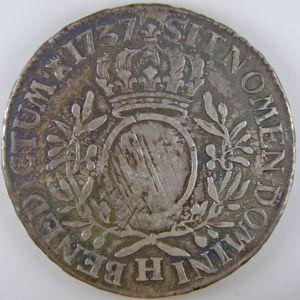 Photo numismatique Monnaies Royales Françaises LOUIS XV (1715-1774) Ecu aux branches d'olivier