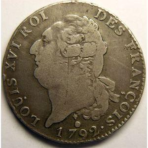 Photo numismatique Monnaies La Révolution Ecu de 6 Livres Constitution (François)