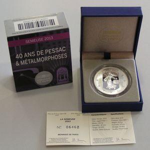 Photo numismatique Monnaies Euros France 10 Euro 2013