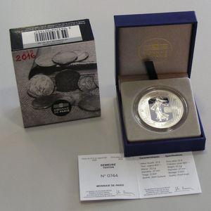 Photo numismatique Monnaies Euros France 10 Euro 2016