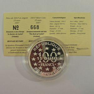 Photo numismatique Monnaies Françaises Monnaies commémoratives Gadoury C205. Irlande Rock Of Cashel