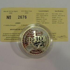 Photo numismatique Monnaies Françaises Monnaies commémoratives Gadoury C232. Cérès, premier timbre