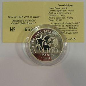 Photo numismatique Monnaies Françaises Monnaies commémoratives Gadoury C26. Dribbleur